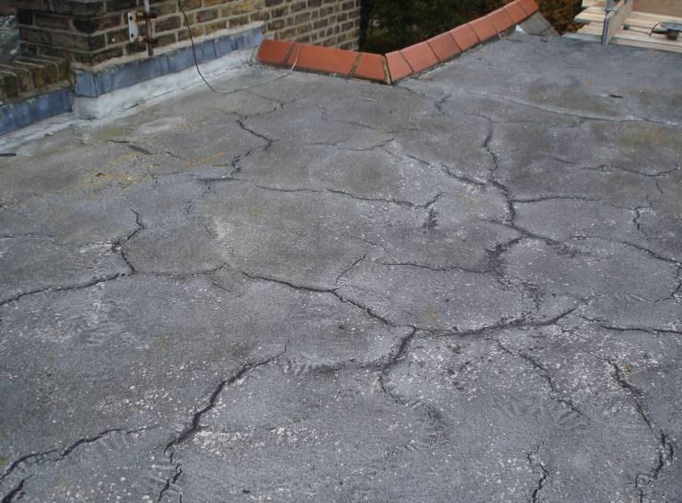 Asphalt Roofing Needing Repair ...